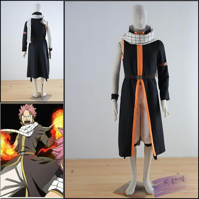 Fairy Tail Natsu Dragneel Cosplay Costume Csddlink New Version Any