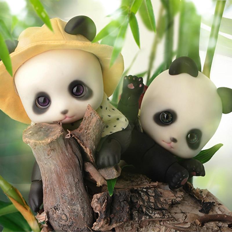 ФОТО OUENEIFS bjd doll sd Soom Pandy 1/3 resin figures model reborn baby dolls eyes High Quality toys shop  gift box