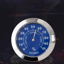 Round Double Dial Thermometer Hygrometer Indoor Car Refrigerator Thermometer Hygrometer Induction Pointer -30-60C(China)