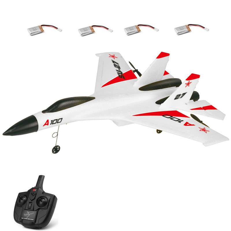 Large RC Fighter SU-27 Plane Model 2.4G 3CH Up To 200M Electric RC Remote Control Airplanes Gliders RC Toys for gifts image