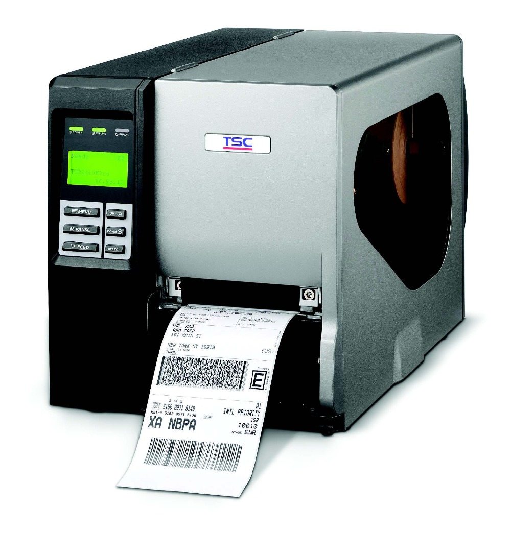 Original Brand New TSC TTP644MU High Speed Performance, LCD Display, Thermal Smart Control Desktop Lable Barcode Printer