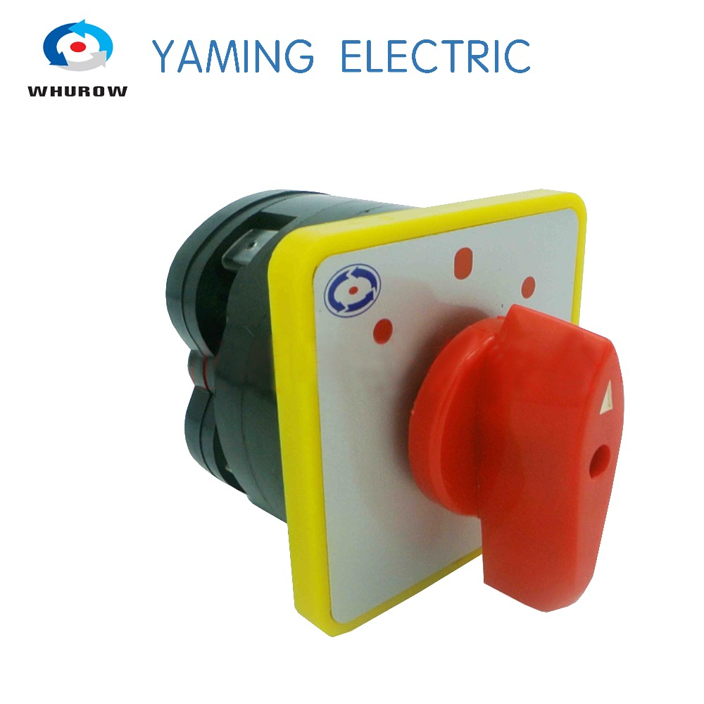 Free shipping 1pcs Rotary switch 3 position single phase electrical changeover cam switch high voltage LW5-16/1