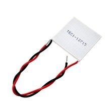 TEC1 12715 12715 136,8 W 12 V-15,4 V 15A TEC Термоэлектрический охладитель Пельтье(TEC1-12715) в том случае, если вы хотите приобрести вещи хорошего качества, пожалуйста, выберите