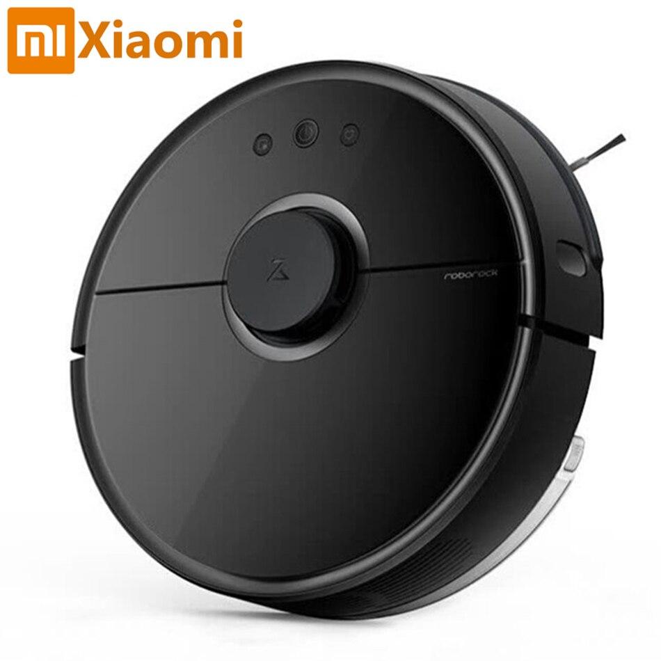 Nuovo Xiaomi Robot Aspirapolvere Roborock Nero S55 Norma Mijia Asciugare Spazzare Robot Aspirapolvere Telecomando Mihome APP di Controllo Wifi