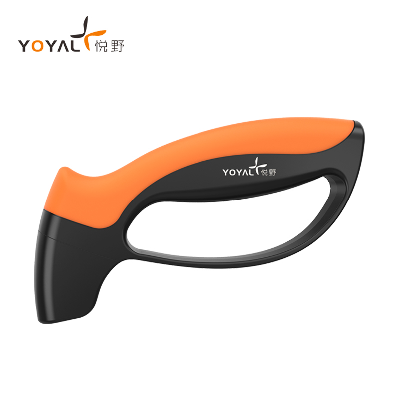 YOYAL Carbide Professional Multi-functional Outdoor Knife Sharpener TY1708 Portable Sharpening Tool For Camping Knife Shovel Axe