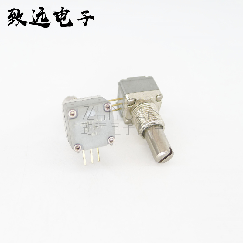 Original new 100% US import P260P-D1 B100K B104 precision single loop potentiometer shaft width 6.35mm 3pin (SWITCH) wl 148 single joint calipers potentiometer b100k 20mm