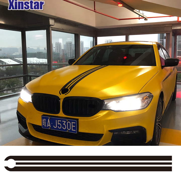 M Power Performance Car Head Sticker For BMW F30 F10 E60 E90 M3 M4 M5 320 330 328 520 530 550 E39 E46 E53 E60 E61 E64 E70 E71