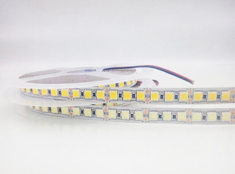 Led Strip 5054 SMD White/Warm White Light DC12V,Surper Bright 120led/m Stripe Tape better than 5050