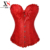 Roupas femininas lace aço desossado espartilhos burlesque trajes de halloween mulheres steampunk corset costume underbust