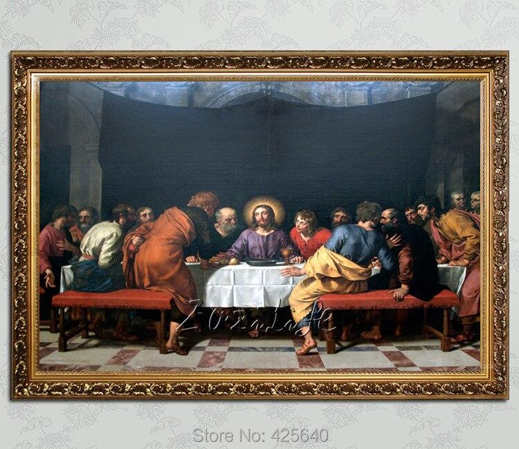 ツ)_/¯Decoración para el hogar Jesús la Última Cena III arte ...