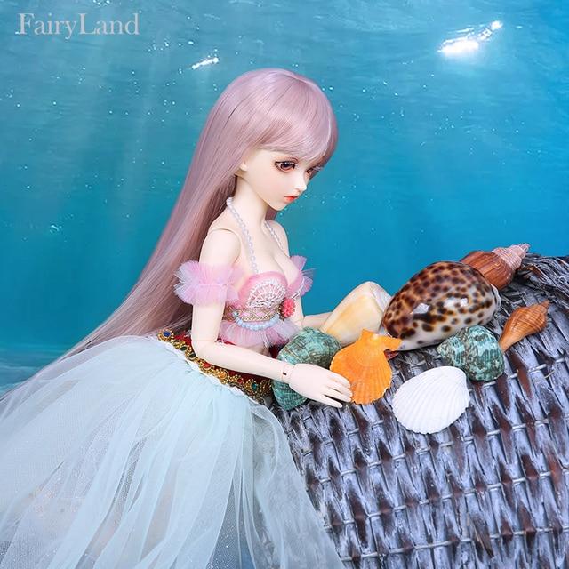 New Arrival Fairyland Minifee Alicia 1/4 bjd sd dollmermaid  toys Fashion shop body model msd iplehousedollmore  present