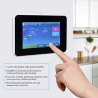 16A 230V AC Digital Floor Heating Temperature Controller LCD Programmable Room Air Thermostat Intelligent temperature regulator