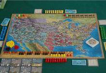 Power Grid Economical Board Game