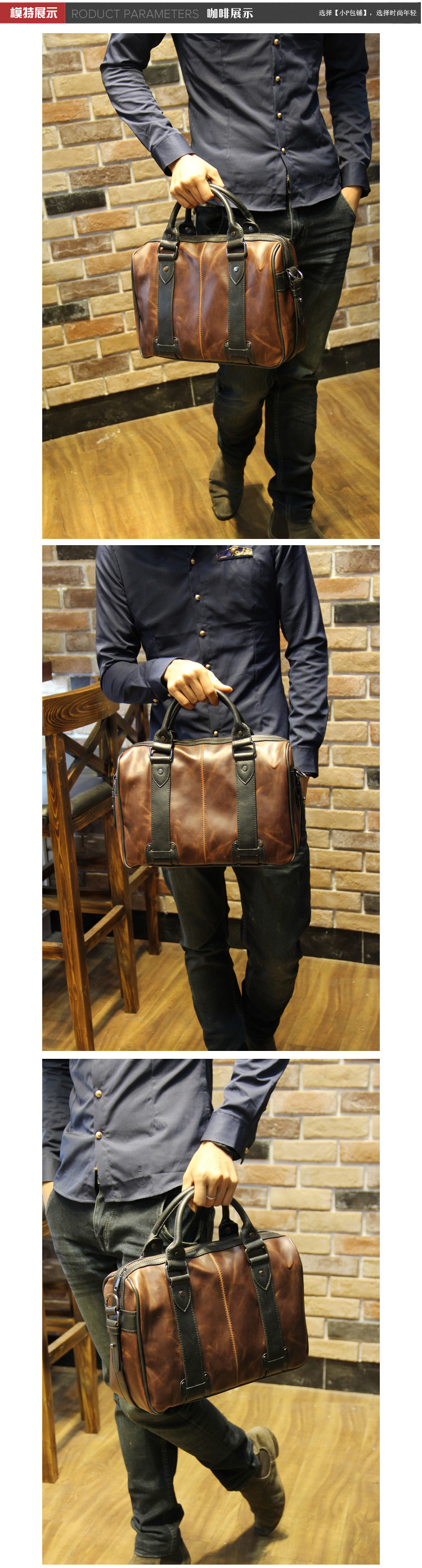 bolsas de negócios casual bolsa de ombro