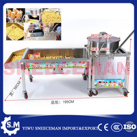 Commercial Sweet Air Popping Popcorn Making Machine rounder ball