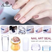 Saviland Gel Varnish for Nail Stamping Plates Stamp Art Template Polish Nails Stemping DIY Seal Scraper