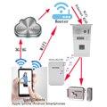 New arrival White Wireless music doorbell working with IP Fingerprint video door phone RTVDP-05