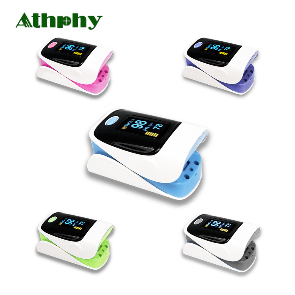 Athphy Finger-pulsoximeter OLED Fingertip Oximetro de pulso de dedo Pulsoximeter Saturator Pulsioximetro Herz Schlagen Hotsale