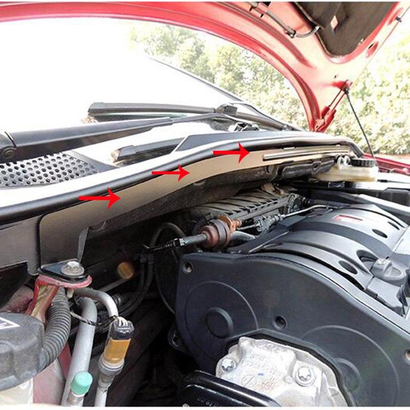 Dianteira do carro Ventosa Placa de Captação de Água Da Chuva Repelente À Água C4 Coleção Box Suporte Bracket Para Citroen 2004-2010