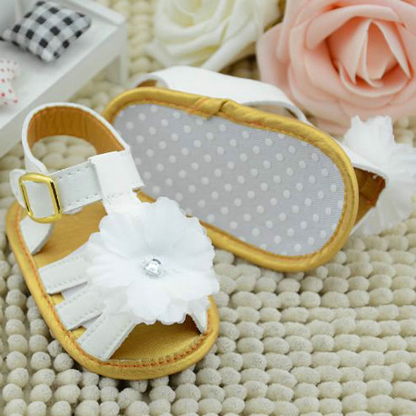 Baby-Girl-Summer-White-Flower-Infant-Soft-Sole-Princess-Shoes-Girls-First-Walkers-0-18-Months-SHM3-4