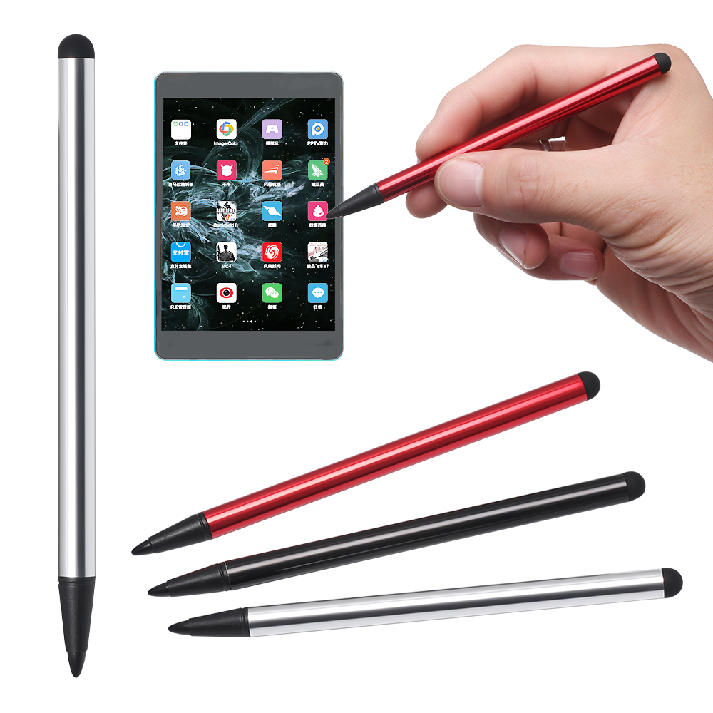 2 In 1 Dual-End Tablet Pen For IPad Touch Screen Pen Stylus Universal For IPhone IPad For Samsung Tablet Phone PC