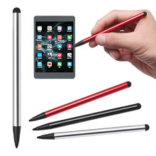 2 em 1 Dual-final Tablet de Tela de Toque da Caneta Para iPad Caneta Stylus Universal Para iPhone iPad Para Samsung telefone Tablet PC(China)