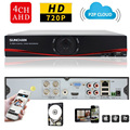 SUNCHAN HD 1080N HDMI CCTV Digital Video Recorder 4CH 4Channel DVR NVR Video Surveillance System 1TB HDD