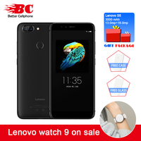 Lenovo S5 K520 Fingerprint Face ID Snapdragon 625(MSM8953) Octa Core 2.0Ghz Rear13MP+13MP 4+64GB OTG Mobile Phone support watch9