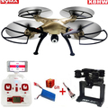 Syma X8HW WIFI FPV Real-time RC Helicóptero Zangão Headless Com 1MP Câmera HD 2.4 Ghz 6 Eixos Giroscópio Controle remoto Quadcopter