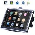 7 Pulgadas de Navegación GPS Portátil Coche Bluetooth AV EN 8 GB 256 MB World Map FM Europa EE.UU. Rusia Camión Vehículo GPS Sat Nav Navigator