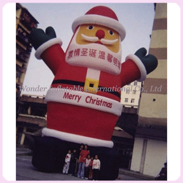 Outdoor Inflatable Christmas Decoration,giant Inflatable Santa Claus,Santa  Claus Inflatable Model