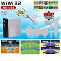 32 bit WiWI jogo interativo de televisão jogos somatossensorial jogo de fitness sem fio em casa