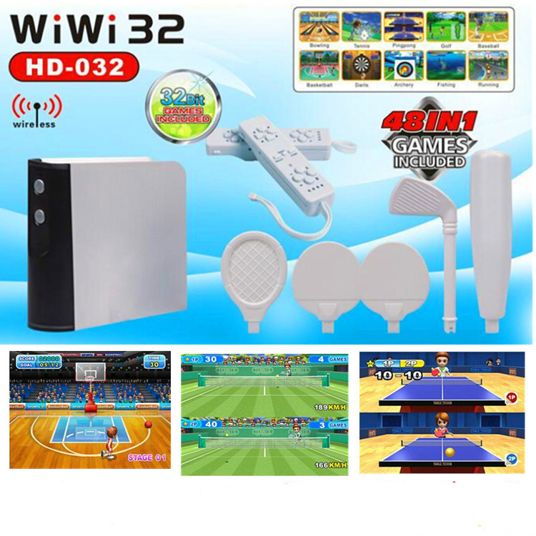 Cdragon 32 bit WiWI interactive game television somatosensory games wireless home fitness game funny fishing game family child interactive fun desktop toy