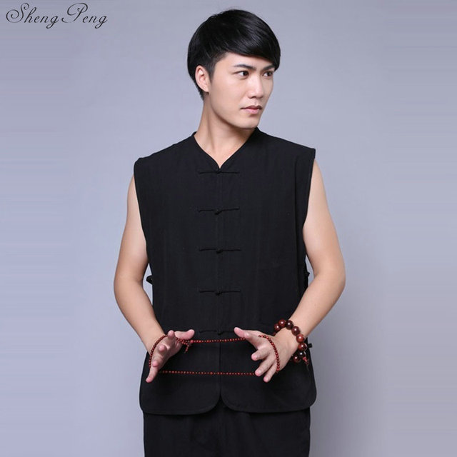 Traditional Sleeveless Gong Fu Shirt