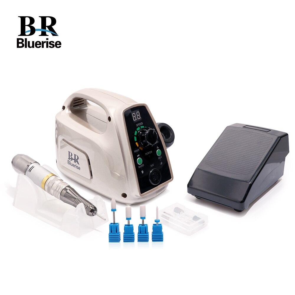 Manicure Tool Set Electric Nail Drill Machine Pedicure Professional Accessoires Milling Ceramic Cutter Nail Drill Bits File 014A цена