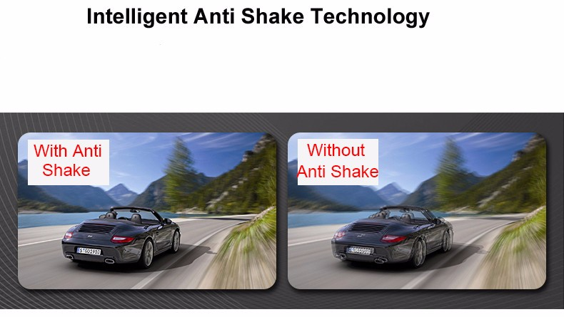 Jansite 1080P Car Dvr Blue Review Mirror Dual Lens Car Camera two cameras Loop record Recorder Auto Registrator Camcorder 16