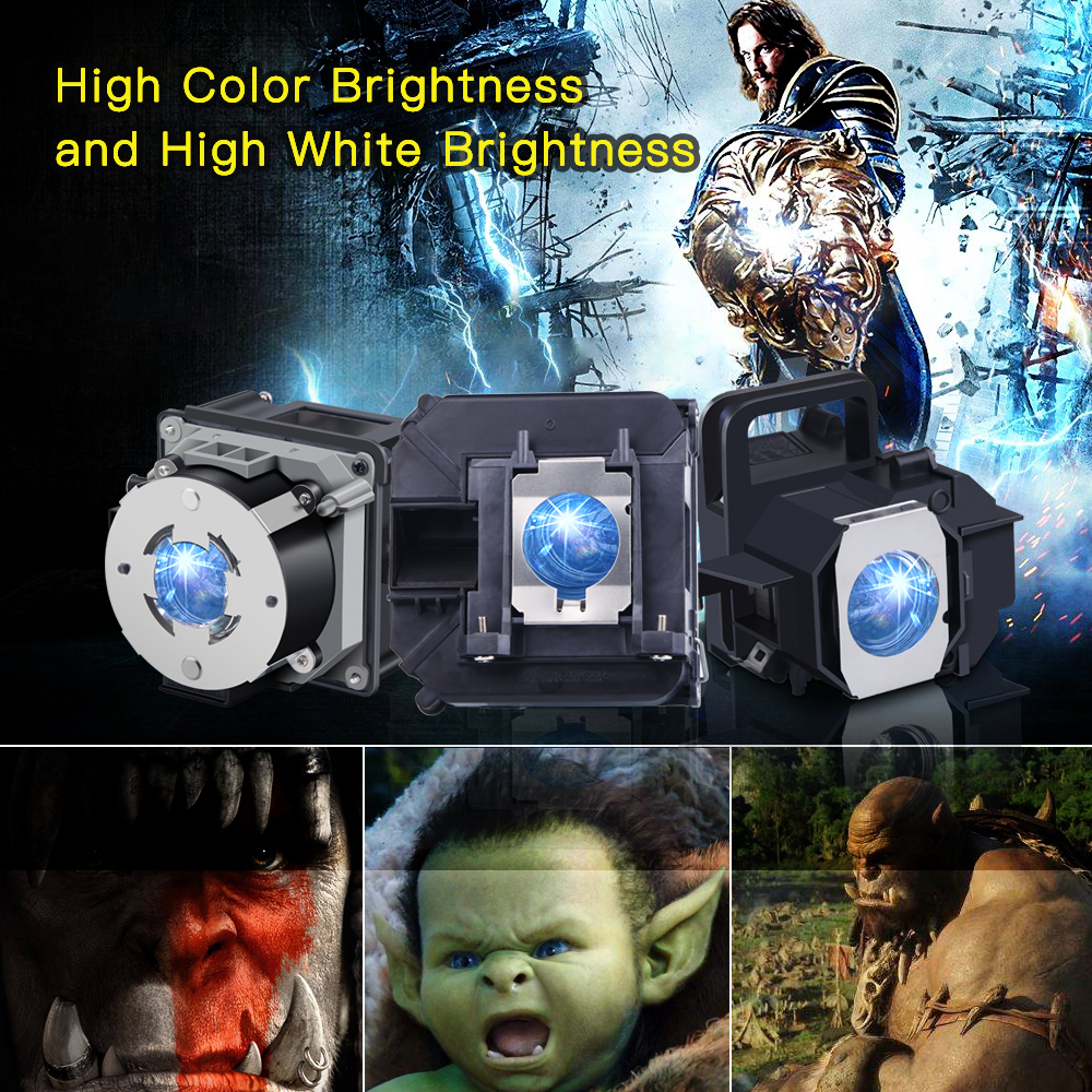 Compatible TLPLW6 Projector Lamp with Housing for Toshiba TDP T250 TDP T250J TDP T250U TDP TW300 TDP TW300U TLP T250 TLP TW300 in Projector Bulbs from Consumer Electronics