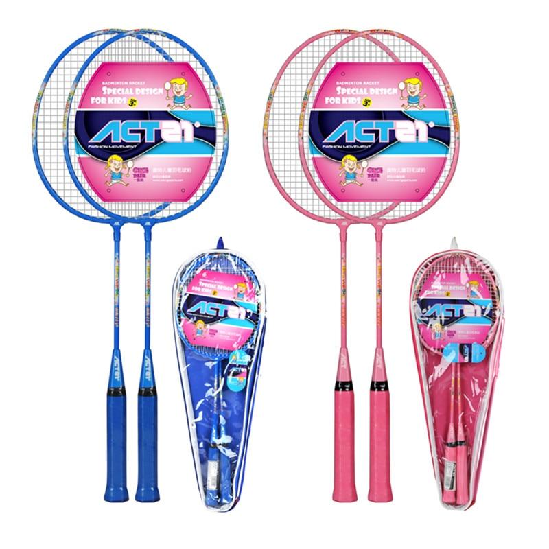 2018 ACTEI BR2250 Professional Carbon Fiber Integration Children's Badminton Racket For Amateur Competition 1PC With Bag
