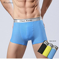 3 pcs/um lote/3 cores boxer mens underwear underwear boxer shorts lingerie masculina homme sexy ropa interior sexy 24