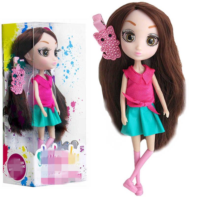 15 Cm Jimusuhutu Großen Augen Engel Puppe Geschenk Box Mädchen Spielzeug Sammlung Puppe 7 Gelenke