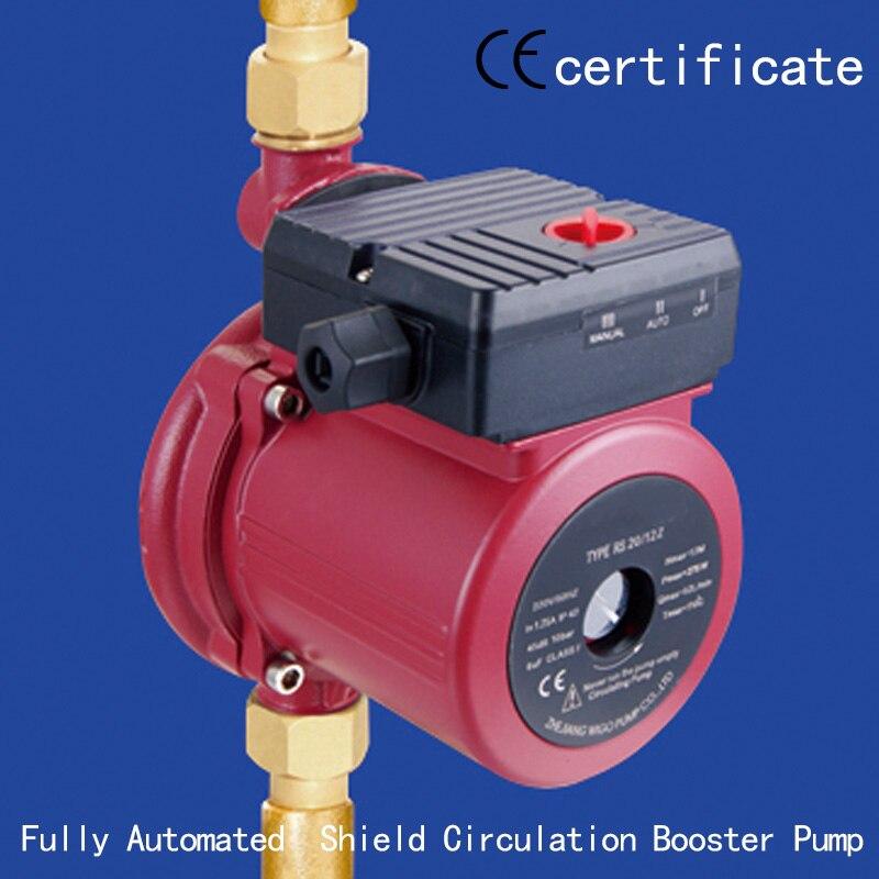Neue Mode Ce Genehmigt Automatische Schild Circulation Booster Pumpe Rs20-12z Warnen Wasser System High Flow Phantasie Farben Druck Mit Industrielle Ausrüstung