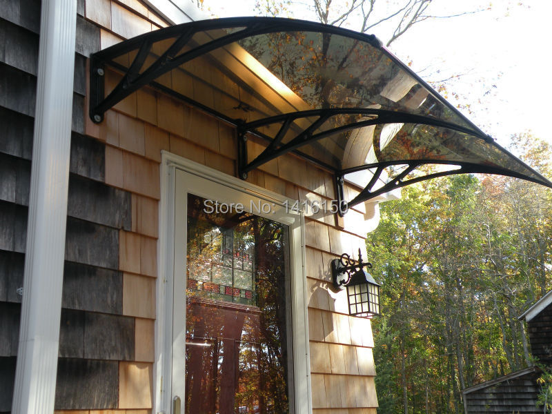 Door CanopyFront AningsPlastic Bracket Polycarbonate Awning In Awnings From Home Garden On Aliexpress