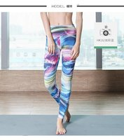 2017 New Arival 3D Print Women Leggings Geometric Knitted Fashion Skinny Leggins Size S M L
