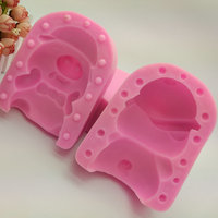 13 5 10 5 9 5cmMale Mcdull DIY Silicone Cake Mold Handmade Soap Mold Hot Pot