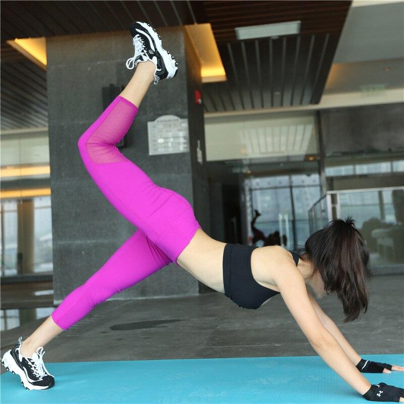 Pantallona të reja të yogasit për gomarë të grave Shihni se pse - Veshje sportive dhe aksesorë sportive - Foto 4