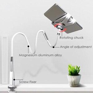 Image 4 - Ynmiwei Mobiele Telefoon Houder 130Cm Lange Arm Bed/Desktop Clip Beugel Voor Ipad Bureau Tablet Stands Ondersteuning