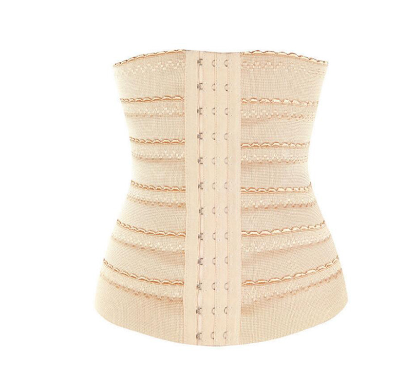 HANRIVER Three rows of elastic rubber band Postpartum Belly Band for Pregnant Women Shapewear Reducers Six yards optional