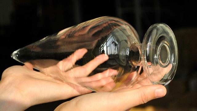 Huge size pyrex glass butt plug large ball big anal dildo