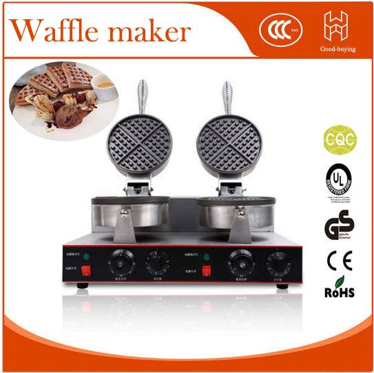 Restaurant cooking mahine baking cake muffin baker electric commercial waffle maker
