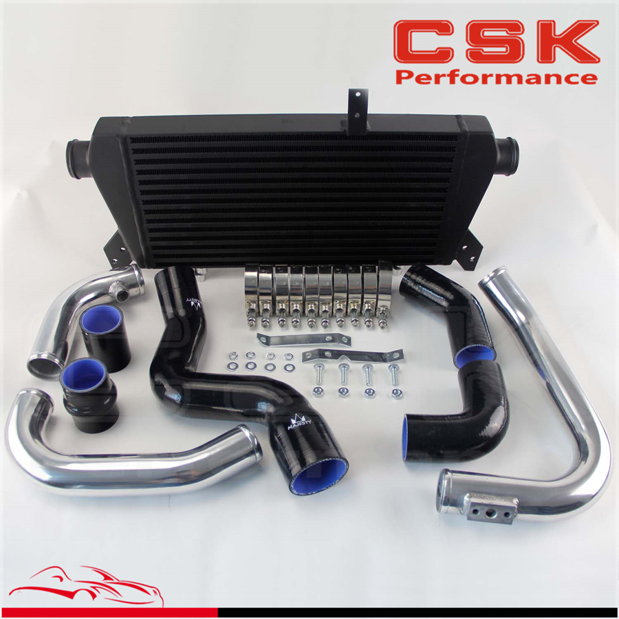 Front Mount IntercoolerPipe Kit Fits For Audi A T Turbo B - Audi a4 turbo upgrade